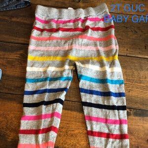 2T Baby Gap leggings
